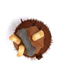 The Barking Bakery Iced Woofin Cupcake Front