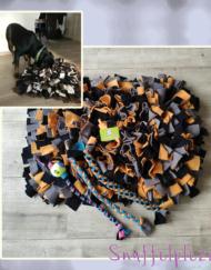 Hondenpakket met speeltouwen en snuffelkussen