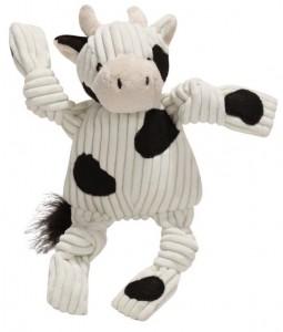 Knottie koe hugglehounds zwart wit voorkant