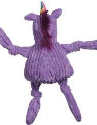 Knottie unicorn hugglehounds paars achterkant