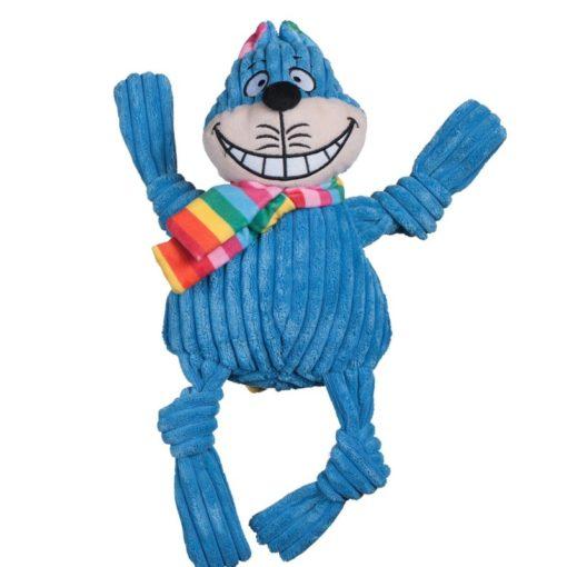 Knottie hugglehounds blauw kat voorkant