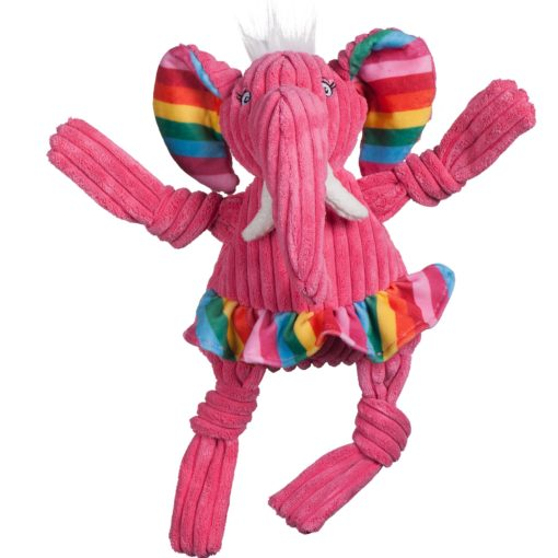 knottie olifant hugglehounds roze voorzijde
