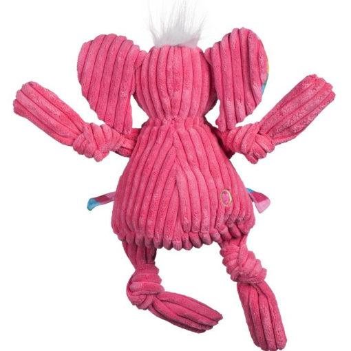 knottie olifant hugglehounds roze achterkant