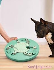 Nina Ottosson dog worker level 3 spel met flapjes en schuifjes voor de hond