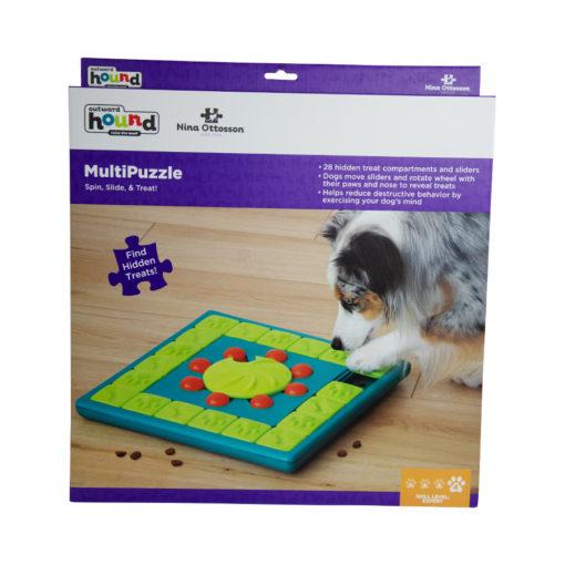 Multipuzzle Nina Ottosson level 4 spel blauw en groen