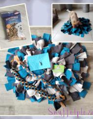 Puppypakket maat M speeltouwen en snoepjes