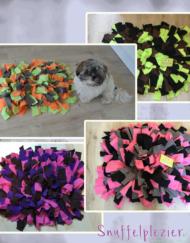 Snuffelkussen M met Teddy en verschillende kleurencombinaties